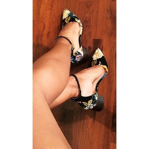 Sole Society Pumps with Strap